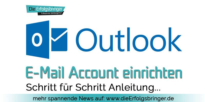 Outlook E-Mail einrichten
