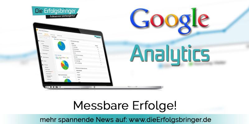 Google Analytics - Erfolg muß messbar sein - Die Erfolgsbringer