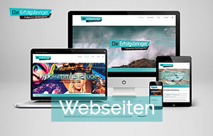 Marketingagentur DieErfolgsbringer Webdesign Homepage Design