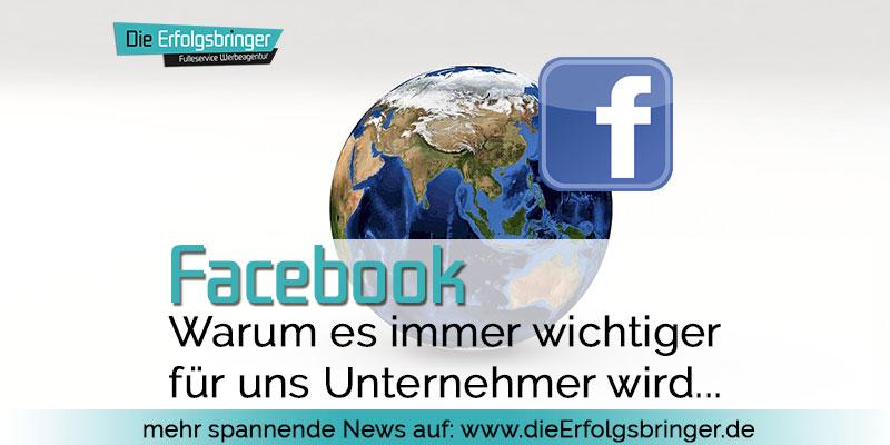 facebook immer wichtiger - Statistiken