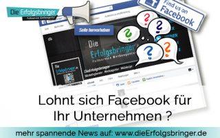 Lohnt sich Facebook für Ihr Unternehmen - Social Media