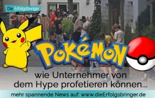 Pokemon Go Tipps - Wie Unternehmer profetieren können