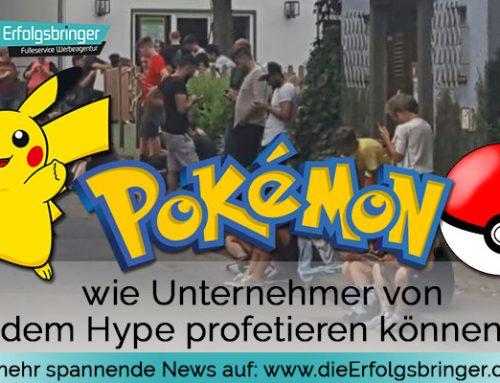 Pokemon Go Tipps – Wie Unternehmer von dem Hype profetieren können