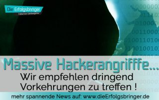 Hacker Angriffe auf Webseiten - Sicherheitswarnungen gegen Hackerangriffe auf Wordpress Webseiten