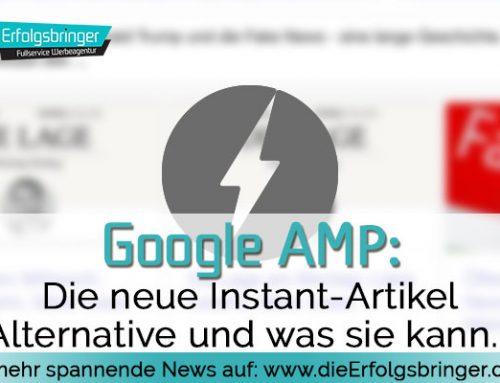 Durch Google AMP schneller auf Artikel zugreifen
