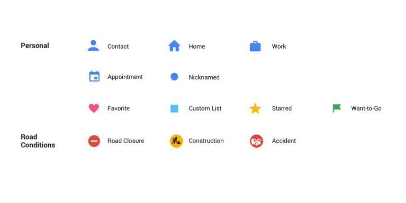 Neues Google Maps Design