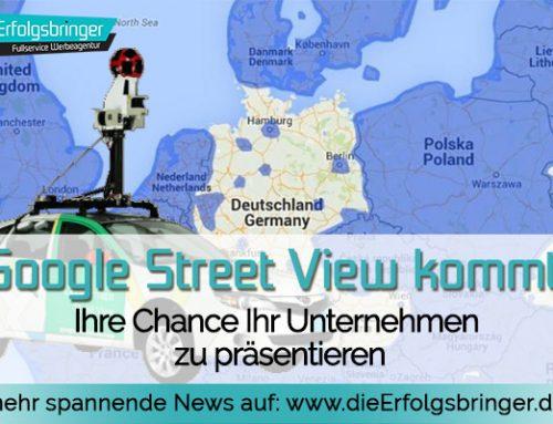Google Street View kommt im November