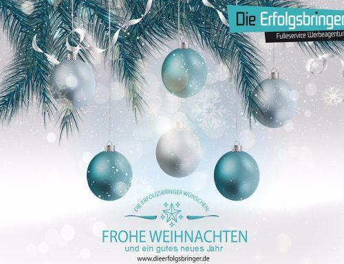 Wir wünschen Euch frohe Weihnachten und einen guten Rutsch ins Jahr 2018