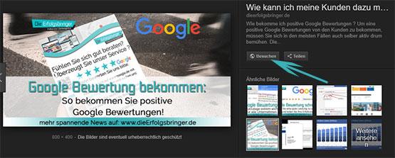 Die Erfolgsbringer Medienagentur-Google Tipps für Optimierung-Google Bildersuche Update-neue Änderungen-032018