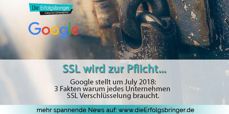 SSL wird Pflicht. 3 Fakten warum
