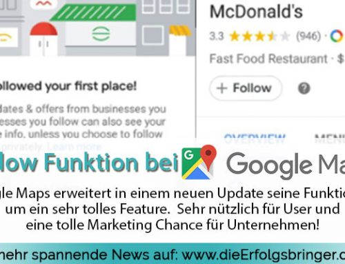 "Neue Google Maps Follow Funktion – ""For you"" Button"