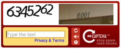 Google Captcha funktioniert