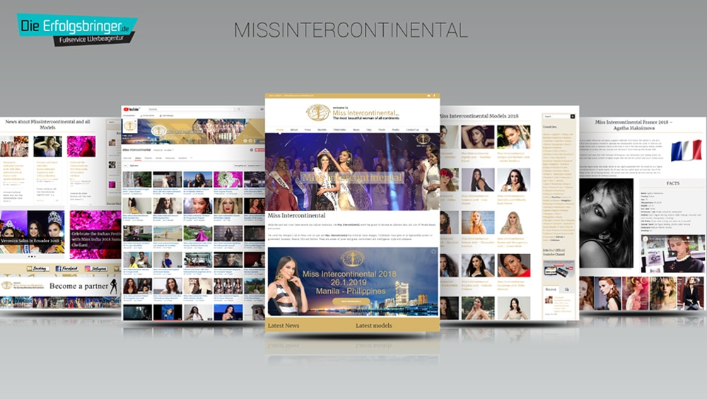 Miss Intercontinental in Manila Philippines