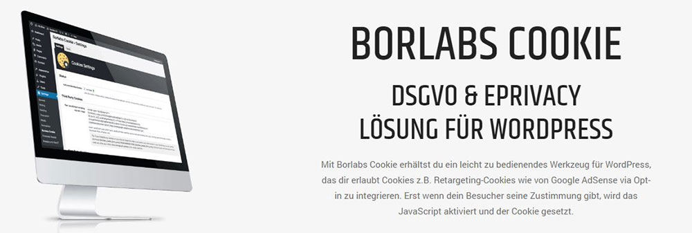 Borlabs Cookie WordPress Plugin Banner