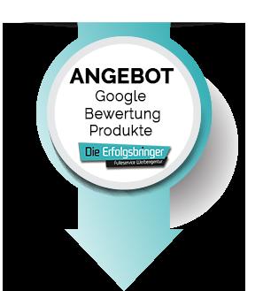 Angebot Google Bewertungsprodukte