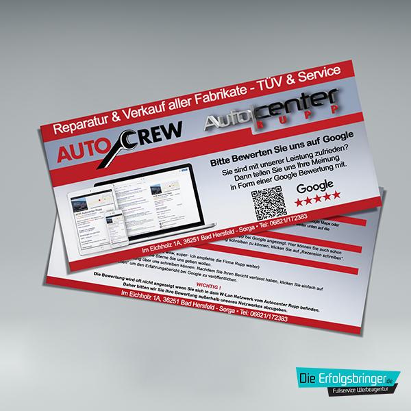 Google Bewertung-Produkte Hochwertige Variante Autocenter Rupp