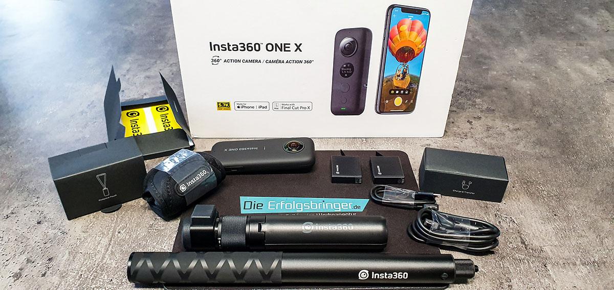 360 Grad Kamera-Insta360 OneX-Banner