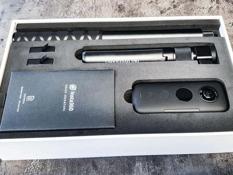 Dieerfolgsbringer-news-technik-360 Grad Kamera-Insta360 OneX-unboxing-bild2