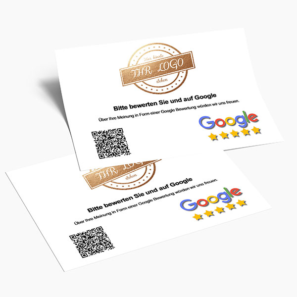Google Bewertungskarte