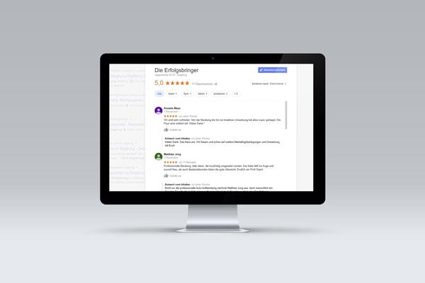 Neue Richtlinien für Google My Business Einträge Bild für Texte