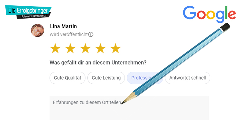 Google Bewertungen schreiben Anleitung