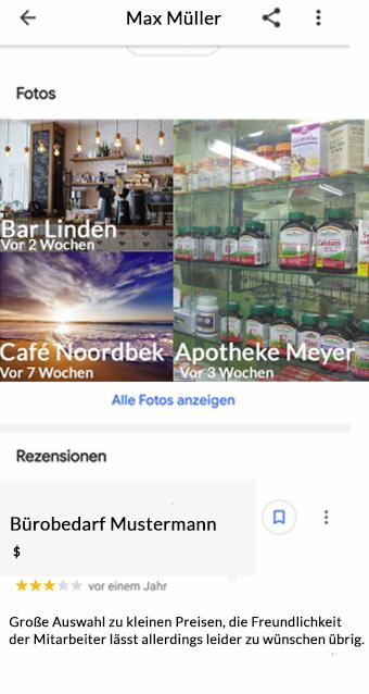 Google Usern folgen Profil 2
