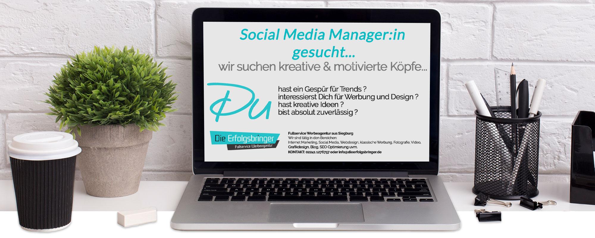 Mediengestalter (m/w/d) Job Siegburg Banner